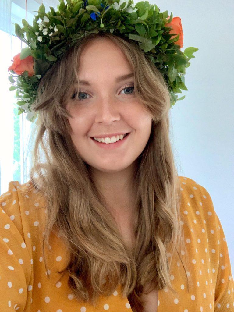 Linnea, projektledare Pepp Göteborg
