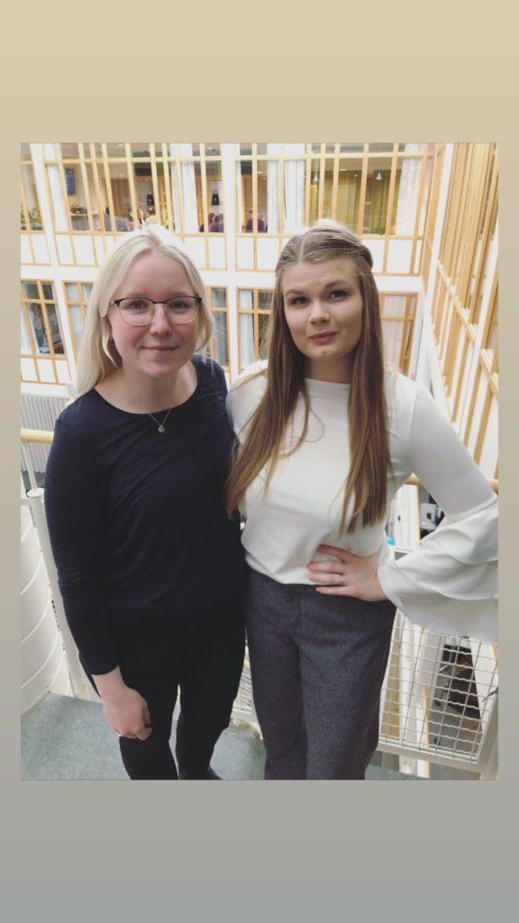 Emilia & Magdalena, Projektledare Umeå